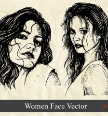 woman-face-vector-illustration-brushes-s1