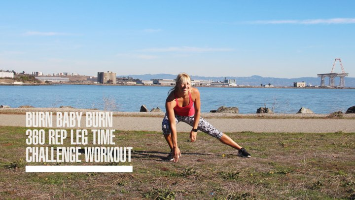 Burn Baby Burn Leg Time Challenge Workout (+ Video)