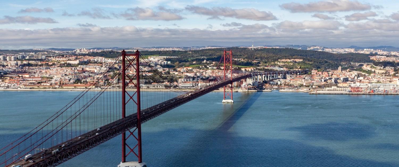 Ponte 25 de Abril, Lissabon, Portugal