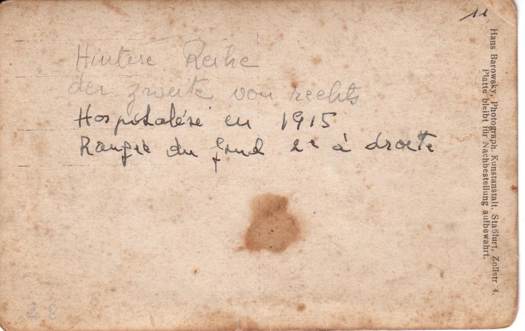 1915  Frauenschtadt Dysenterie