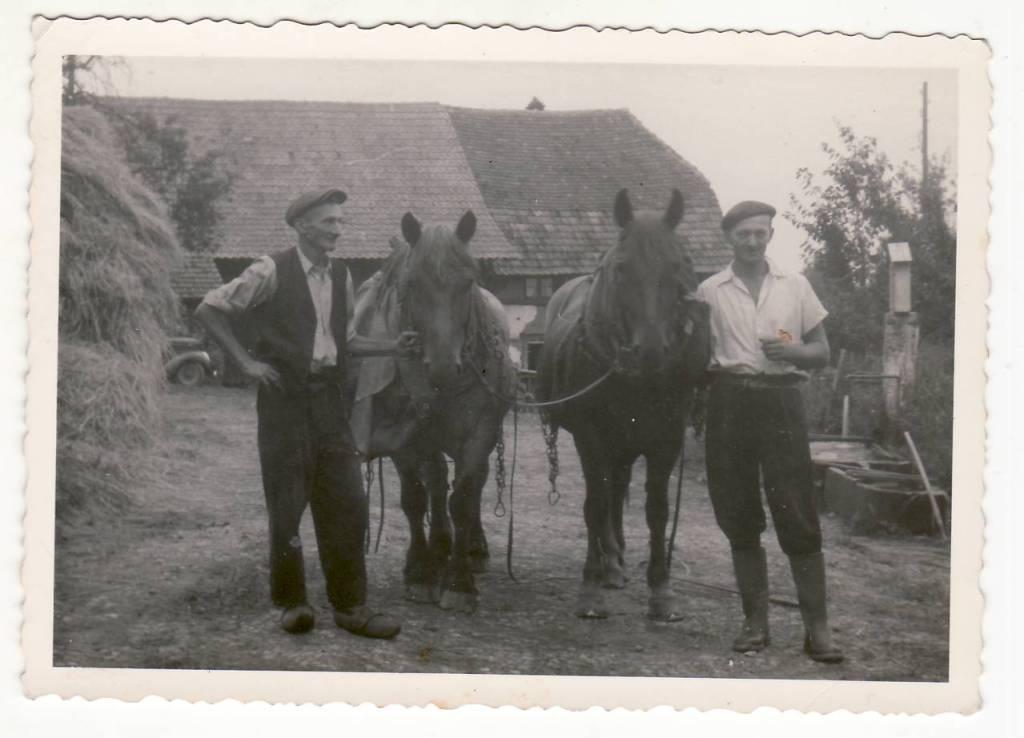Dominique Richert et Marcel