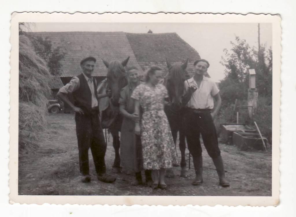 Dominique Richert et son épouse et  Marcel Richert son fils et son épouse
