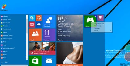 Windows 9 Start Menu, Windows Threshold, Windows 9 changes