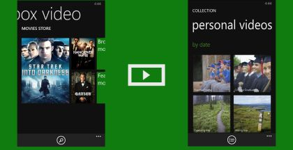 Xbox Video, movie apps WP, Windows Phone entertainment
