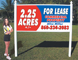 Order 4x8 Signs  Commercial Real Estate Signs  Site Signs  Outdoor     4x8 Site Signs