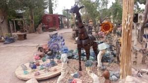 Cactus Joe's yard art