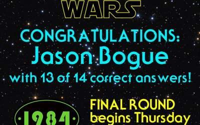 CONGRATS ROUND 2 WINNER!