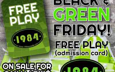 BLACK & GREEN FRIDAY!