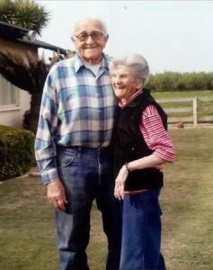 After 67 years of marriage, Floyd and Violet Hartwig died five hours apart from each other in their home.