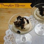 4 You with Love: Pumpkin Mousse