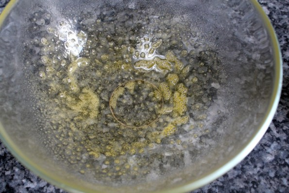 Spray or grease a small bowl
