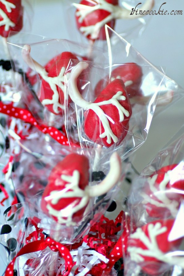 Lung Cake Pops