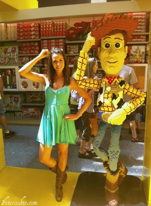 LEGO Woody and Jasmin