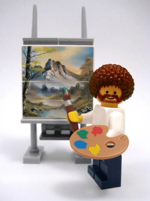 Happy trees lego