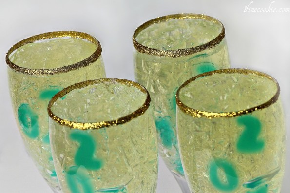 champagne jello shots new year's recipes idea adult