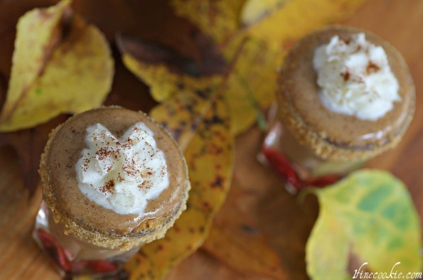 Pumpkin pie shots recipe by 1 Fine Cookie
