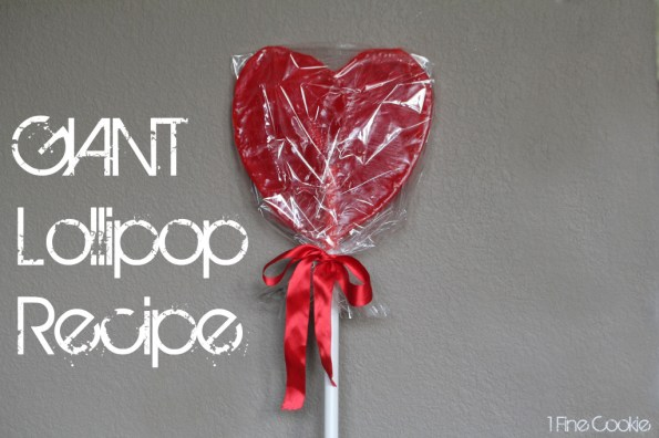 Giant Valentin'es Day heart lollipop by 1 Fine Cookie, giant, large, xl, lollipop, cherry, red, sucker, candy, candy, mold, powdered, sugar, confectioner's, make, how to, diy, hack, pimp, candy, heart, shaped, lollies, lolly, unique, valentine's, birthday, gift, present, red, valentine, wedding, engagement, homemade, home, sugar, boil, candy, thermometer, sweets, dessert, recipe, copycat, mother's day,