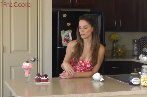Cooking Video Youtube how to make Marshmallow Cream Frosting Recipe, Marshmallow cream, fluff, recipe, smore, soft, marshmallow, cream, ice cream, valentines, video, valentine's, strawberry, Chocolate, covered, hearts, homemade, tutorial, easy, how to make, cupcake, frosting, recipe, sprinkles, day, dessert, topping, filling,  ingredients, candy thermometer, kitchenaid