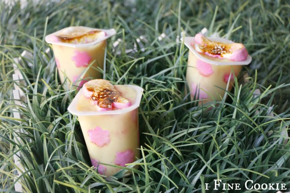 Marshmallow Peep Pudding Cup, creme, brulee, pudding, snack, pack, cups, packs, vanilla, hack, easy, spring, easter, raspberry, quick, simple, kids, party, marshmallow, pink, peeps, bunny, flower, dots, mini, kitchen, torch, smore, s'more, mix, in,  fruit, classy, adult, fast, how to, make, cute, floral,