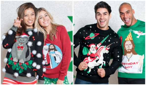 tacky holiday sweaters