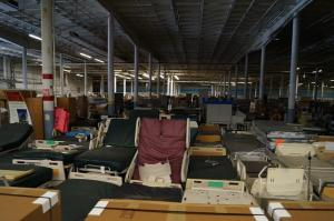 We help hospitals liquidate medical surplus for cash and get space back in warehouse and storage.