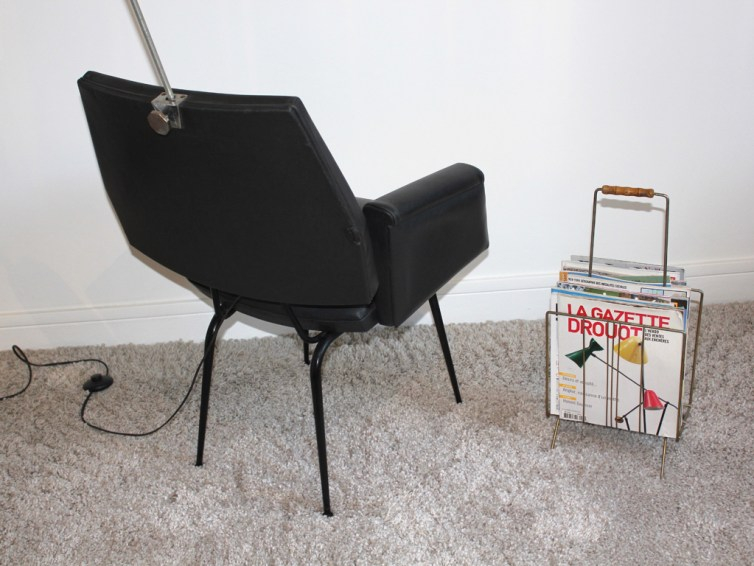 fauteuil lampe fifties 1 rue vintage. Black Bedroom Furniture Sets. Home Design Ideas