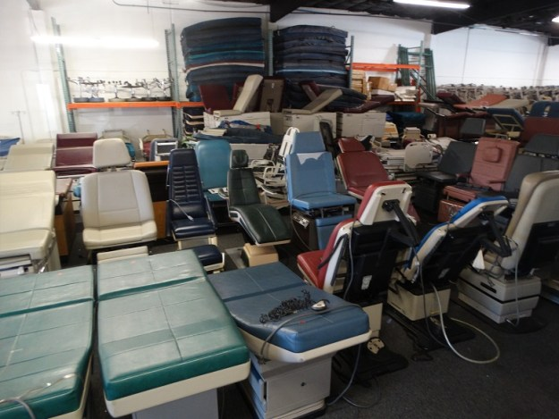 Refurbished Ritter and Midmark power exam and procedure chair / tables for sale