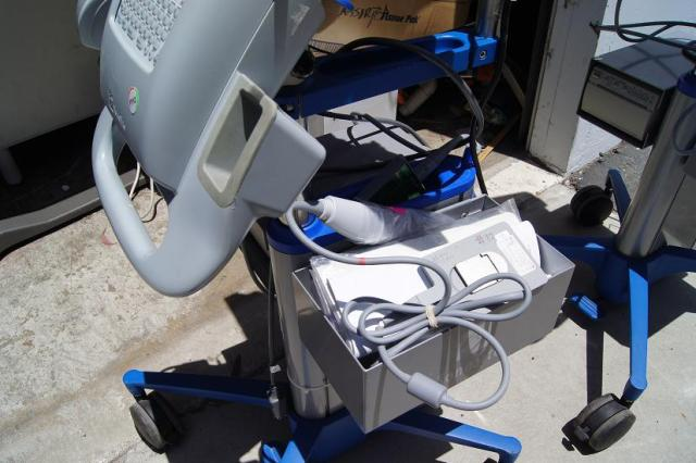 Sonosite ultrasound probes and cart