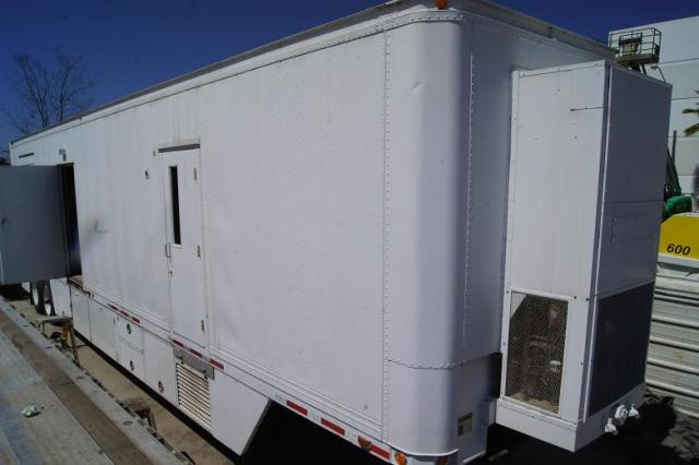 45 Foot Medical Trailer | Mobile CT Scan Trailer | Ellis and Watts with 1996 GE Prospeed CT Scan Machine for Sale