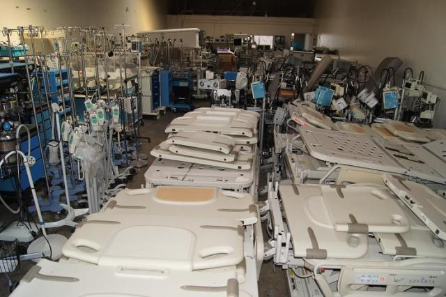 Used medical and surgical equipment in San Diego California.