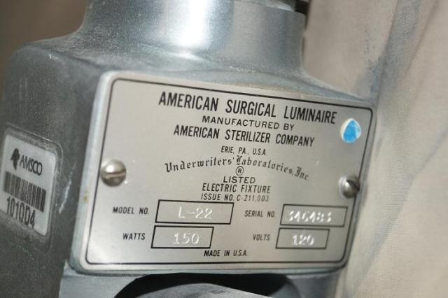 1 AMSCO Surgical OR Lights for Sale
