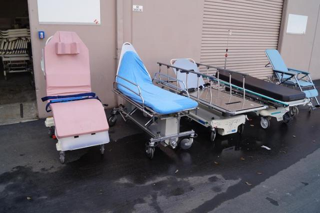 1 Surgical chairs stretchers gurneys and transport stretcher for sale