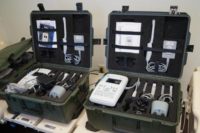 Sonosite 180 Plus Portable Ultrasound Military Field Kits