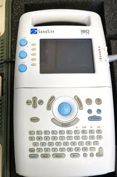 Sonosite 180 Plus portable ultrasound for sale
