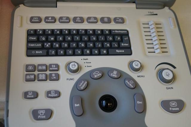 Sonoscape A6 ultrasound keyboard