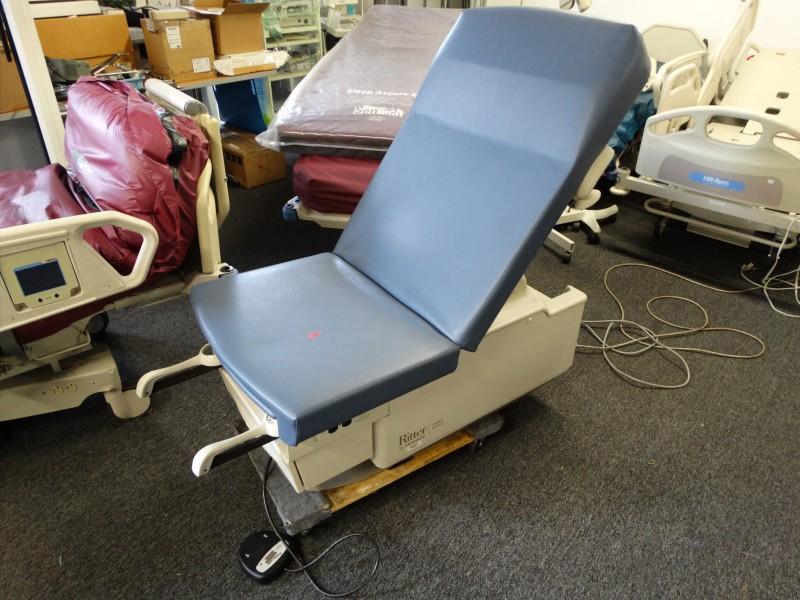 1 Midmark Ritter 222 Power Exam Table Used Hospital Medical Equipment