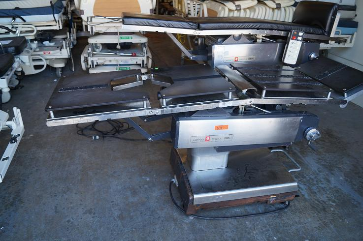 Amsco 2080 and 3080 surgical tables for sale