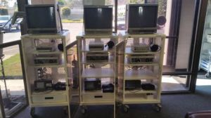 Stryker endoscopy tower systems for sale