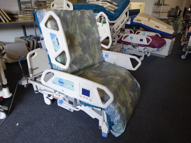 Hill-Rom-TotalCare-Bariatric-Hospital-Bed-for-sale
