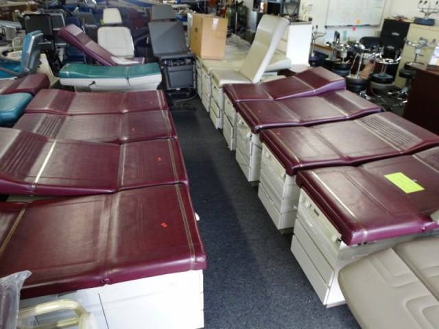 Ritter-and-Midmark-exam-tables-for-sale