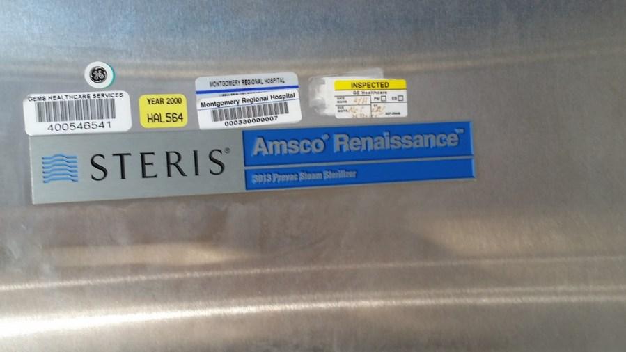 Amsco Steris 3013 Prevac Steam Sterilizer