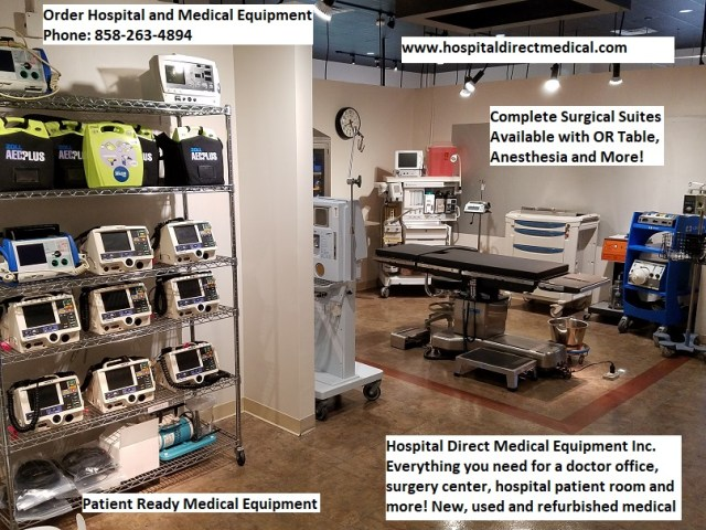 Hospital Medical Equipment for Sale USA