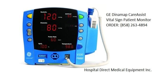 GE Dinamap CARESCAPE V100 patient monitor for sale (858) 263-4894