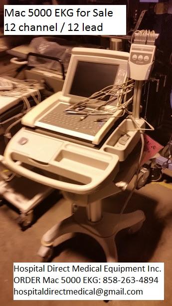 Mac 5000 EKG ECG for Sale