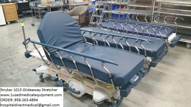 Stryker 1015 Glideaway Stretcher for Sale