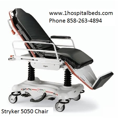Stryker-5050-stretcher-chair-gurney for sale order 858-263-4894