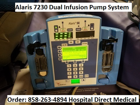 Alaris 7230 Infusion Pump dual channel