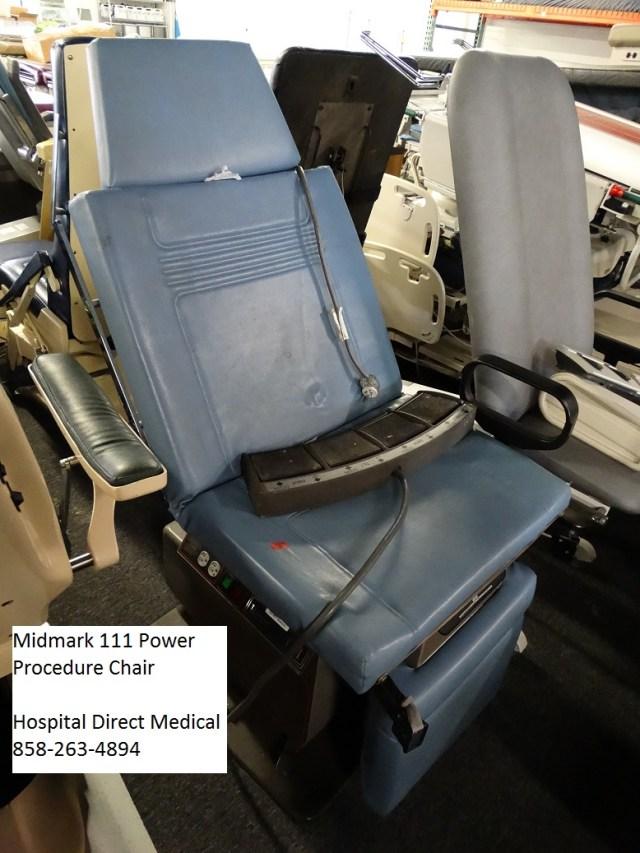 Midmark 111 power procedure chair