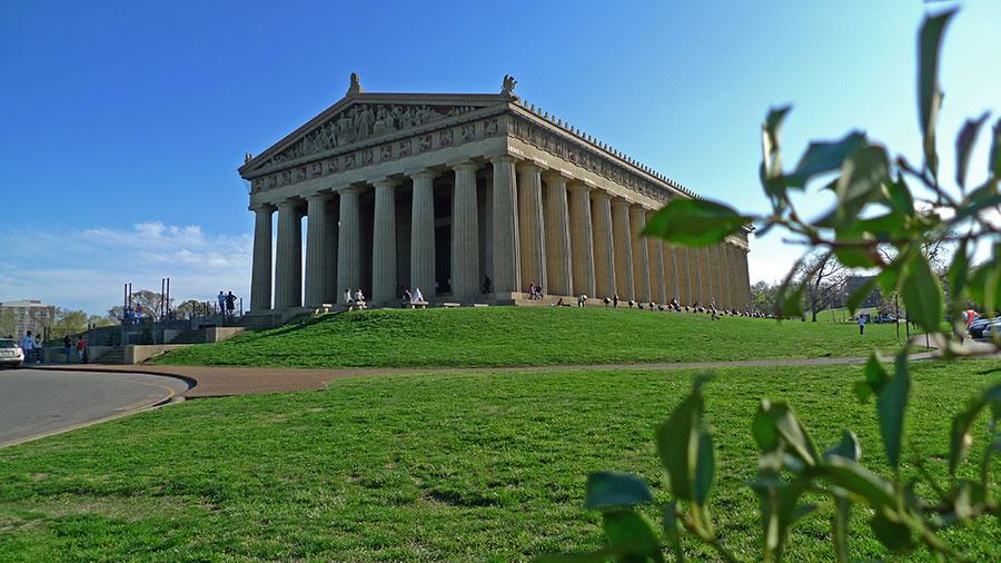 Parthenon in Centennial Park, Nashville, TN