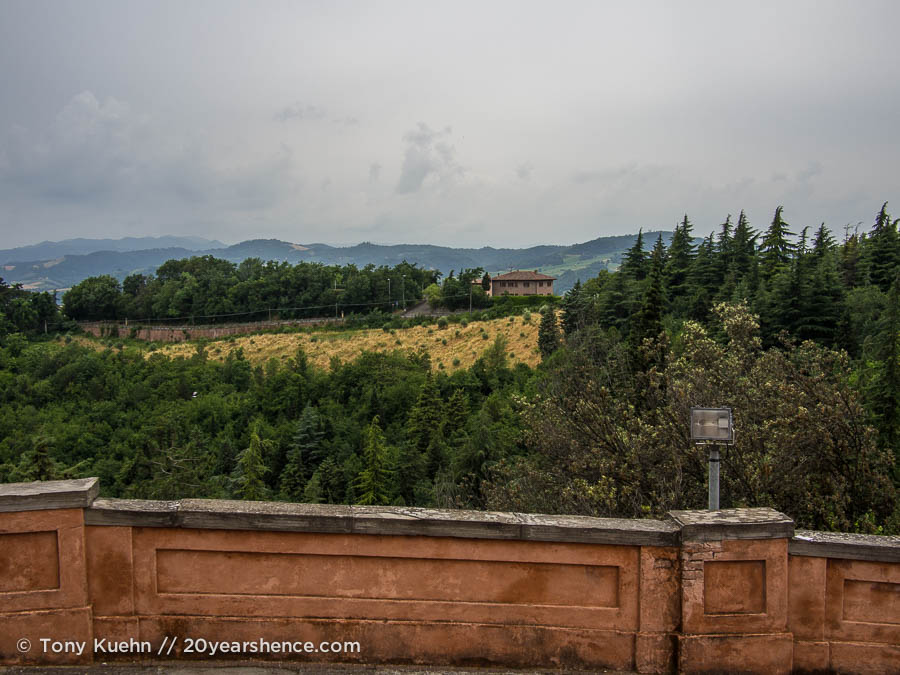 View from San Luca, Bologna